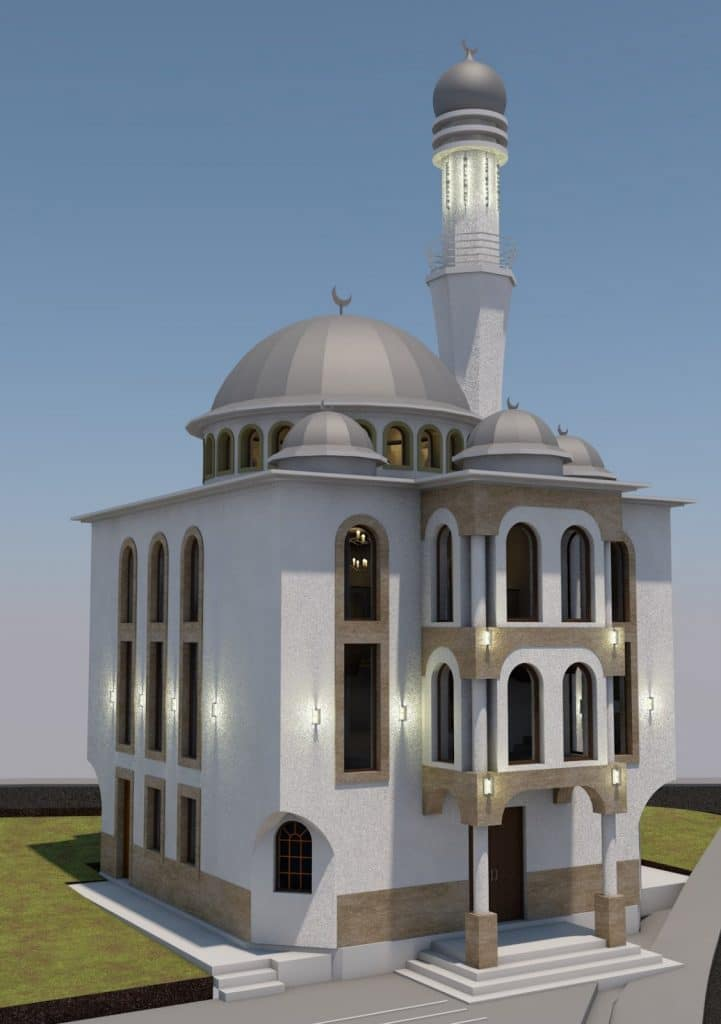 Totten – A mosque is being built in the settlement of Clichy